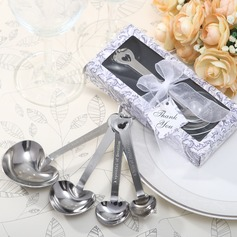 Heart Shaped Zinc Alloy Spoon Set (051075141)