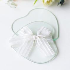 Hjerteformede Hjerteformede Glas Kreative Gaver med Bånd (051201879)