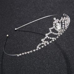 Abbigliamento donna Unico lega Diademi con Strass/Cristallo