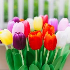 Colorido PVC Flor (Vendido em uma única peça)