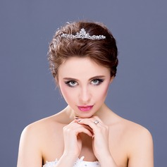 "Shining Crystal/Rhinestone/Alloy/""A"" Level Rhinestone Tiaras"
