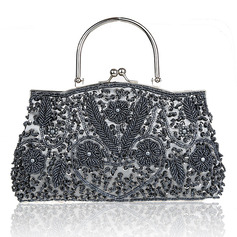 Charming Polyester Clutches/Wristlets/Satchel/Top Handle Bags/Bridal Purse/Evening Bags