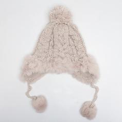 Ladies' Lovely/Elegant Cotton/Cony Hair Beanie/Slouchy