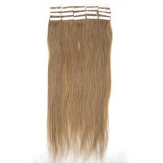 4A Nicht remy Gerade Menschliches Haar Tape in Haarverlängerungen 20PCS 50g