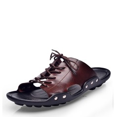 Mannen Patent Leather Casual Pantoffels voor heren (263171692)