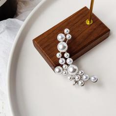 Ladies ' Elegant Imiteret Pearl Pearl øreringe Hende