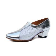 De mujer Cuero Tacones Sandalias Entrenamiento Zapatos de danza