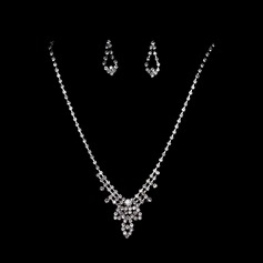 Simple Alloy/Rhinestones Jewelry Sets