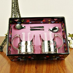 Stainless Steel/Glass Tea Party Favors