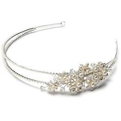 Gorgeous Kristall/Strass/Legering/Fauxen Pärla Pannband med Strass/Venetianska Pärla/Kristall (Säljs i ett enda stycke)