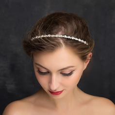 Ladies Bowknot Rhinestone/Alloy Headbands