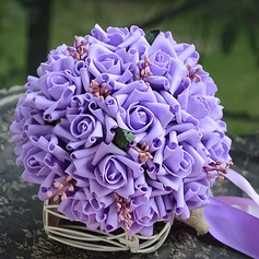 Gorgeous Round PE Bridal Bouquets/Bridesmaid Bouquets