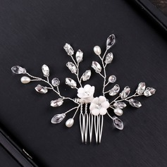 Ladies Eye-catching Alloy Combs & Barrettes (Sold in single piece)