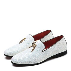 Men's Sparkling Glitter Casual Men's Loafers (260187408)