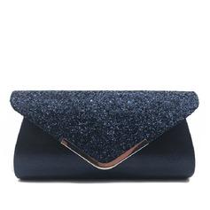 Elegant Mousserende Glitter/Polyester Koblinger (012202587)
