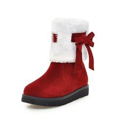 Vrouwen Suede Flat Heel Flats schoenen
