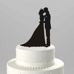 """статуэтка """"Сладкие объятия"""" акрил Свадьба Фигурки для торта/Свадебный душ Фигурки для торта"""