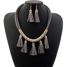 Mode Legering Damer' Smycken Sets
