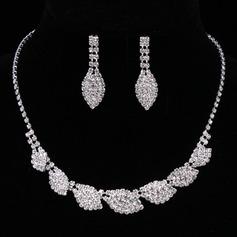 Lindo Liga/Strass Mulheres/Senhoras Conjuntos de jóias