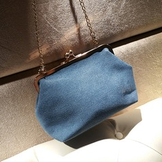 Elegant Denim Clutches