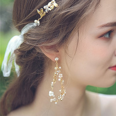 Ladies' Gorgeous Alloy Rhinestone Earrings For Bride/For Bridesmaid/For Mother/For Friends/For Her