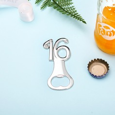 Anniversary/Birthday Zinc Alloy Bottle Openers (Set of 4)