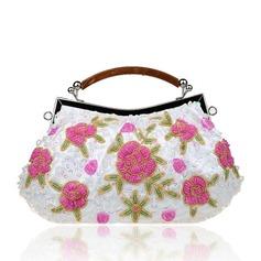 Elegant Spets Grepp/Handledsväskor/Totes väskor/Brudväska/Mode handväskor/Makeup Väskor/Lyx Bag