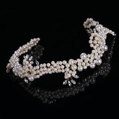 Señoras Estilo clásico Aleación/La perla de faux Diademas