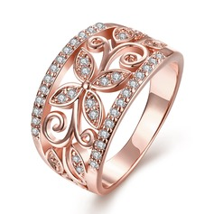 Fashional Copper/Gold Plated Ladies' Rings