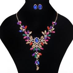 Красивая сплав акрил женские Комплекты ювелирных изделий
