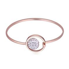 De moda Aleación Diamantes de imitación Señoras' Pulseras de Moda