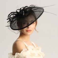 Ladies' Fashion/Special/Glamourous/Elegant/Unique/Fancy/Romantic/Vintage/Artistic Cambric/Net Yarn Fascinators/Kentucky Derby Hats
