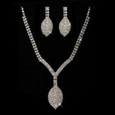 Fantasía Aleación/Diamantes de imitación Sistemas de la joyería