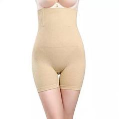 Mujeres Femenino/Estilo clásico Algodón Transpirabilidad/Permeabilidad a la humedad/Levante la nalga Cintura Alta Pantalones Cortos Fajas