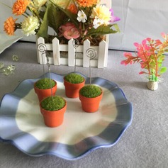 Flora Design Resin Place Card Holders (Sold in a single piece)