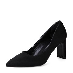 De mujer Ante Tacón ancho Salón Cerrados zapatos