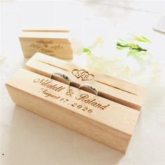 Elegant/Personalized Wood Ring Holder