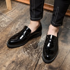 Men's Patent Leather Casual Men's Loafers