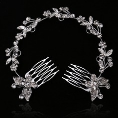 Gorgeous With Rhinestone Ladies' Hair Jewelry (011146996)