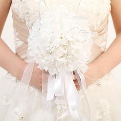 Fantaisie Rond Satiné/Ruban Bouquets de mariée