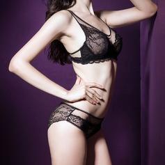 Algodão/Nailon Feminino Sutiã/lingerie Set