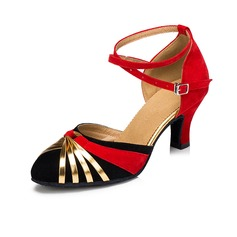 Women's Heels Pumps Modern With Buckle Dance Shoes