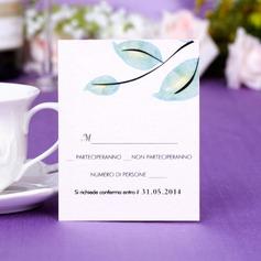 Personalizado Projeto da folha Papel Pérola Cartões da Resposta (Conjunto de 50)