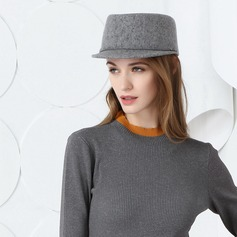 Wool Bowler/Cloche Hat
