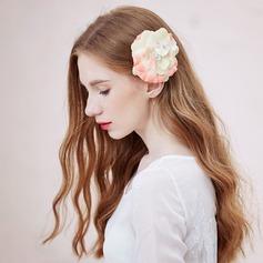 Besondere Kunstseide Kämme und Haarspangen/Blumen und Federn
