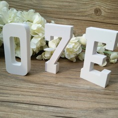 Monogram/Nummer PVC Bryllup Decor