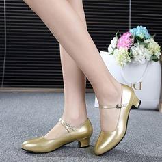 Similicuir Talons Escarpins Chaussures de Caractère avec Boucle Chaussures de danse