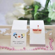 Personalizado Garota adorável & menino papel cartão duro (Conjunto de 50)