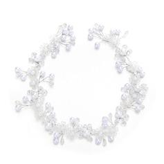 Damer Romantiskt Kristall/Fauxen Pärla med Venetianska Pärla/Kristall (Säljs i ett enda stycke)