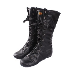 Kids' Leatherette Boots Jazz Dance Boots Dance Shoes